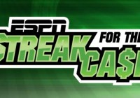ESPN Enterprises ESPN Streak For Cash Sweepstakes