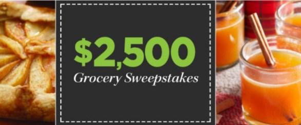 Eating Well $2,500 Grocery Sweepstakes