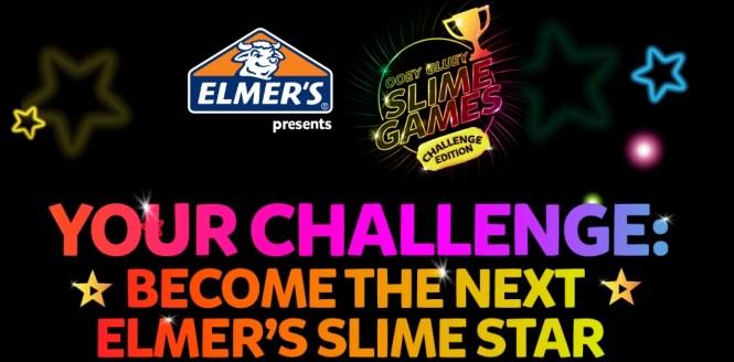 Elemer's Ooey Gluey Slime Games Contest