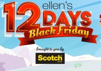 Ellentube 12 Days Black Friday Giveaway