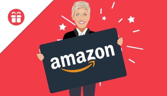 Ellentube Amazon Gift Card Giveaway
