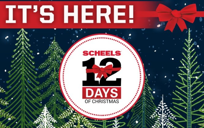 Experience Scheels 12 Days Of Christmas Promotion