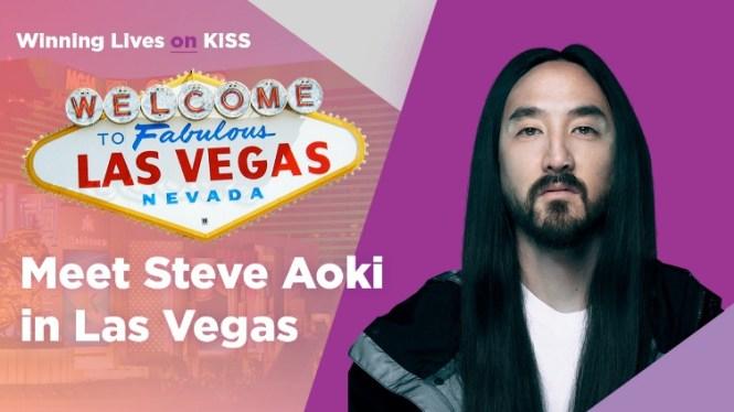 Kiss 92.5 Meet Steve Aoki In Vegas Contest