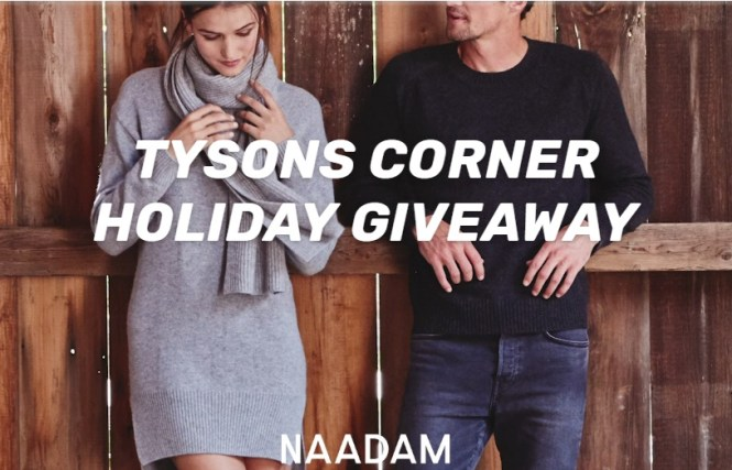 Naadam Tysons Corner Holiday Giveaway
