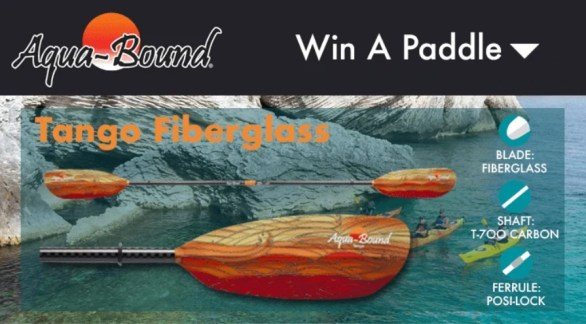 Paddling Aqua Bound Sweepstakes