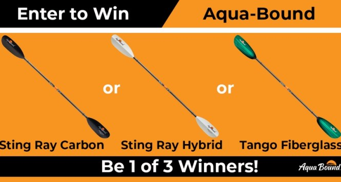 Paddling.com Aquabound Paddles Sweepstakes