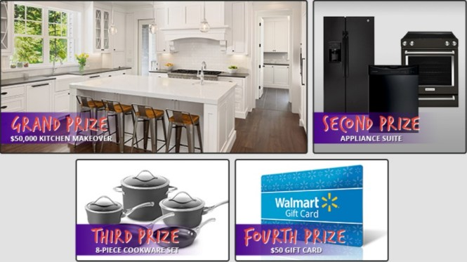 Kitchen Makeover Sweepstakes - Win Kitchen Makeover ...