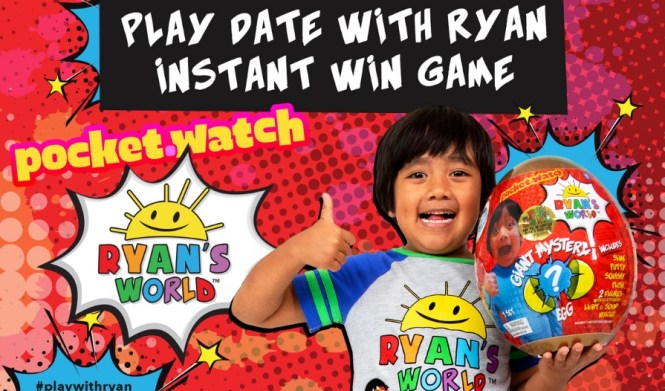 Pocket Watch Play Date With Ryan Instant Win Game