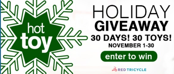 Red Tricycle Hot Toy Holiday Giveaway