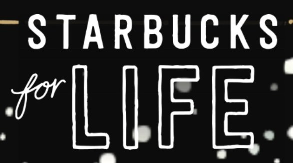 Starbucks For Life 2018 Holiday Edition Promotion