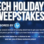 Tiger Direct Tech Holiday Sweepstakes