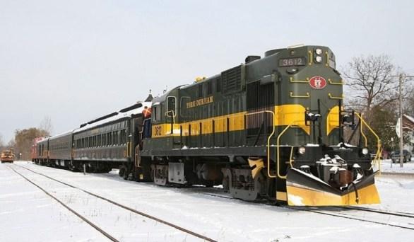 Toronto 4 Kids Santa Train Contest