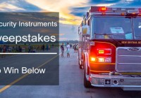 Universal Security Instruments Safety Starts At Home Sweepstakes