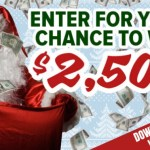 WHBC APPY Holidays $2500 Cash Contest
