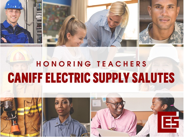 WXYZ Caniff Electric Supply Salutes Teachers Contest