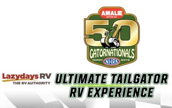 Amalie Motor Oil NHRA Gatornationals Ultimate Tailgator Sweepstakes