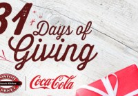 Coca Cola Boston Market 31 Days Of Giving Sweepstakes