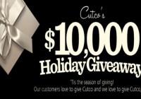 Cutco $10,000 Holiday Giveaway