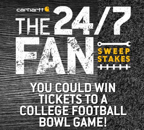 ESPN Carhartt 24/7 Fan Sweepstakes
