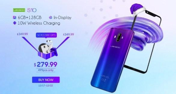 Gizmochina Leagoo S10 Smartphone Giveaway