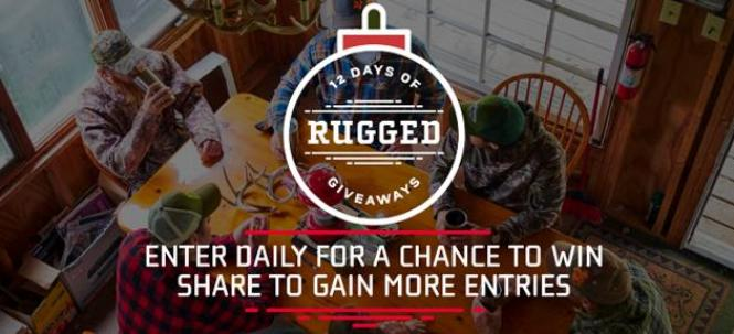 OXX 12 Days Of Rugged Giveaways