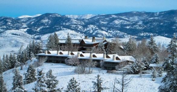 Perks Sun Mountain Lodge Winter Getaway Contest