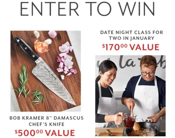 Sur La Table 12 Days Of Gifting Sweepstakes