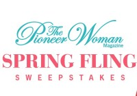 The Pioneer Woman Spring Fling Sweepstakes