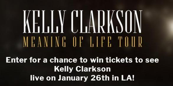 Topsify Kelly Clarkson Follow To Win Sweepstakes – Win A
