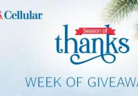 U.S. Cellular Week of Giveaways Sweepstakes
