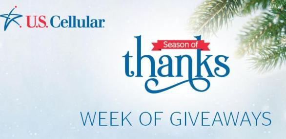 U.S. Cellular Week of Giveaways Sweepstakes