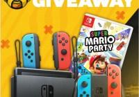 Vast Nintendo Switch, Super Mario Party, Joy-Con Controller Giveaway