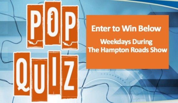 Wavy The Hampton Roads Show Daily Pop Quiz Trivia Sweepstakes