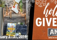 Anvil Brewing Holiday Giveaway