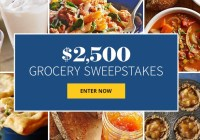 Better Homes And Gardens $2500 Grocery Sweepstakes