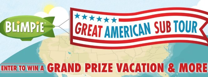 Blimpie Great American Sub Tour Sweepstakes