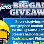 Boyers Food Big Game 2019 Giveaway