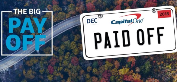 Capital One The Big Payoff Sweepstakes
