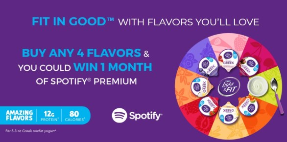 Dannon Light And Fit Mix Up The Flavor Sweepstakes