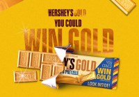 Hersheys Gold Rush Promotion