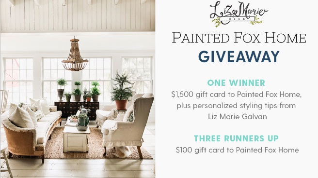 Jane Painted Fox Home Giveaway