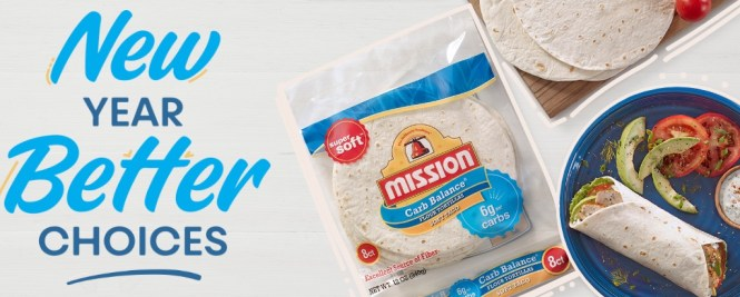 Mission Foods New Year Better Choices Sweepstakes