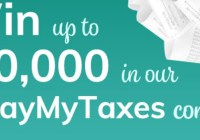 Money Solver Pay My Taxes Contest