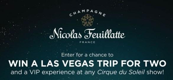 Nicolas Feuillatte Win A Trip To Las Vegas Sweepstakes