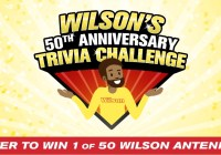 RoadPro Brands Wilsons 50th Anniversary Trivia Challenge Sweepstakes
