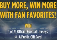 Smith Field Publix Football Sweepstakes