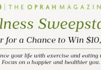 The Oprah Magazine Wellness Sweepstakes