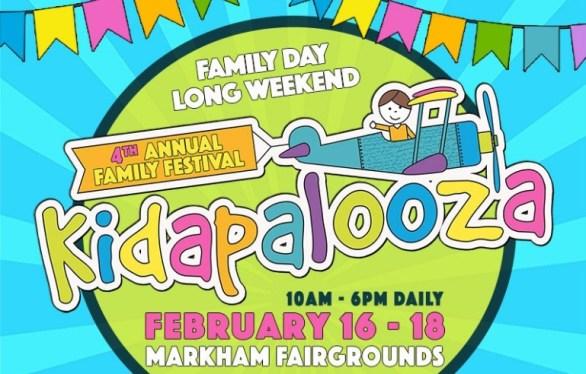 Toronto 4 Kids Kidapalooza Family Festival Contest