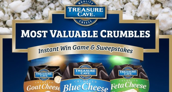 Treasure Cave Most Valuable Crumbles Instant Win Game And Sweepstakes