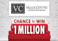 Value City Furniture $1000000 Check Number Guess Contest